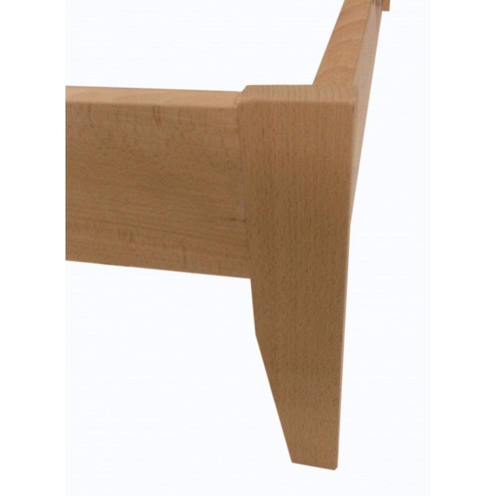 Camas de madera maciza for Tejado madera maciza