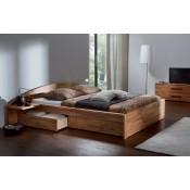 Cama de madera maciza Boni